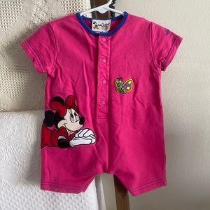 Vintage Walt Disney World baby embroidered onesie